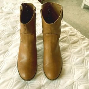 Size 7 mid calf booties